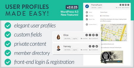 افزونه user profiles